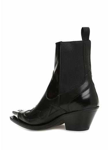 Versace Bot Siyah